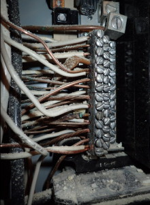 wire insulation melting