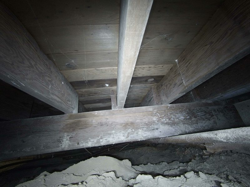 FPV crawlspace inspection